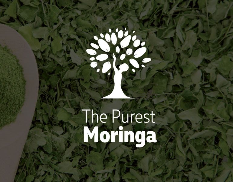 The Purest Moringa Logo